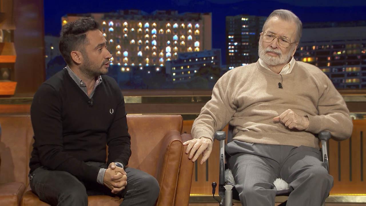 Chicho Ibáñez Serrador y Juan Antonio Bayona